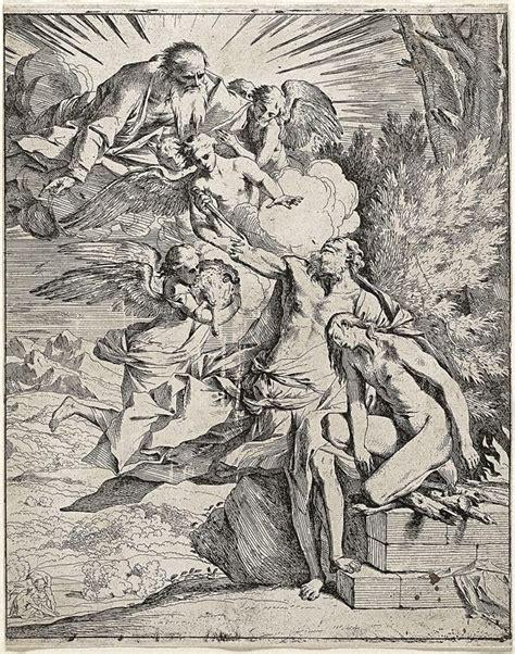pietro testa the sacrifice of isaac 1640 1642 by pietro testa the