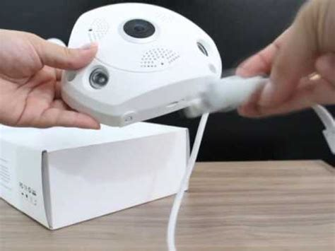 câmera panorâmica segurança 3d wi fi 360° vr cam 2mp youtube