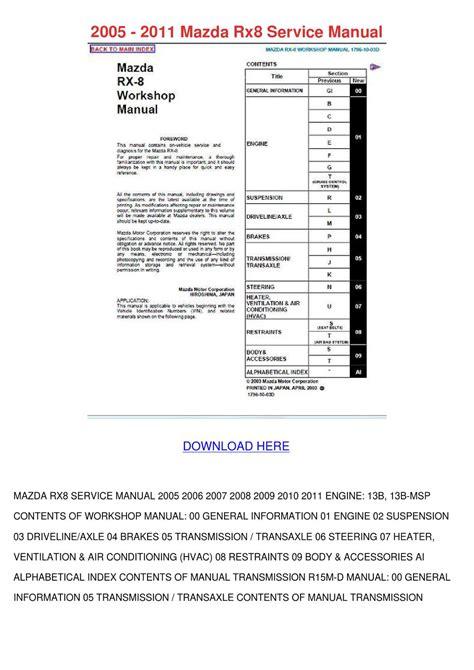 small engine repair manuals free download 2008 mazda mazda6 windshield wipe control 2005 mazda 6 repair manual download pdf 2005 mazda 6 service repair manual download download
