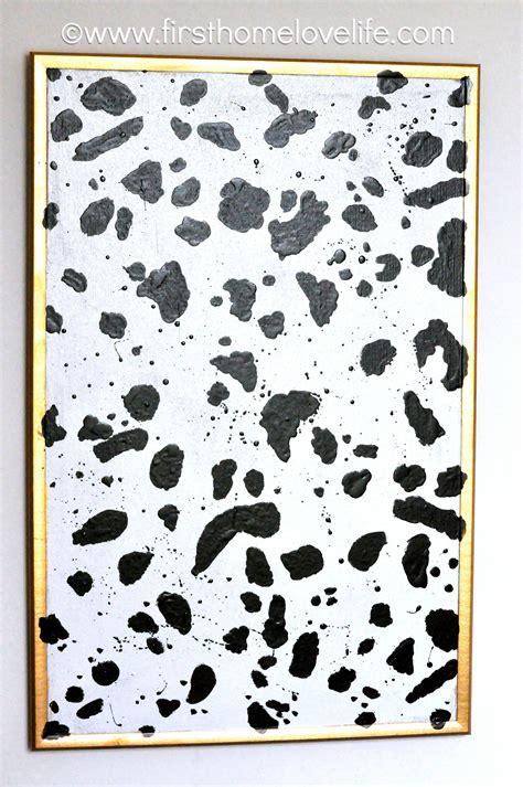 dalmatian print bulletin board  home love life