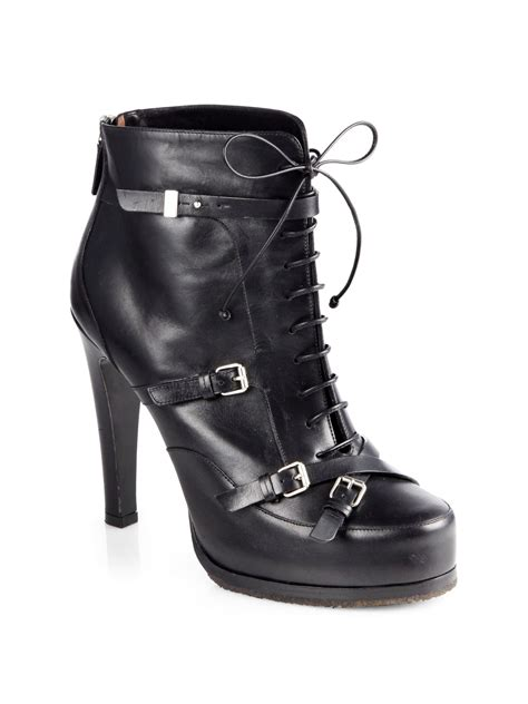 motorcycle ankle boots tabitha simmons hannah leather laceup motorcycle ankle