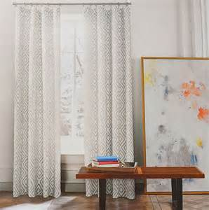 Beige And Gray Curtains Hilfiger Lake Gray Beige Grey 2pc Window Curtain Panels 96 Quot Pair More Best