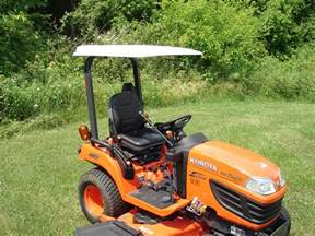Compact Tractor Canopy by Kubota Compact Tractor Hard Top Canopy