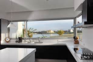 House Kitchen Interior Design Black White Interior Minimalist Kitchen Interior House