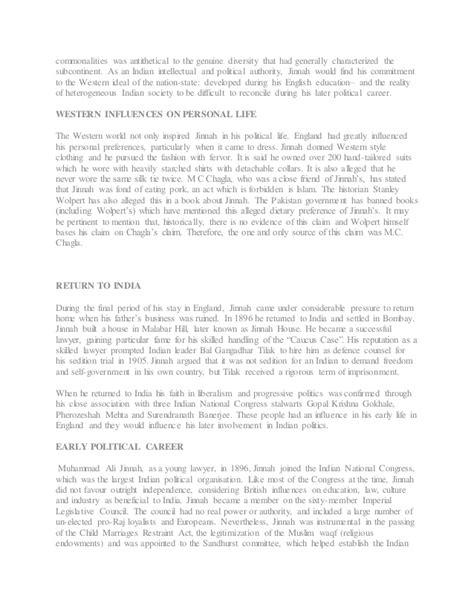 dadabhai naoroji biography in english muhammad ali jinnah biography and role