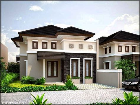 desain rumah modern minimalis  lantai gaya tropis ilmutekniksipilcom
