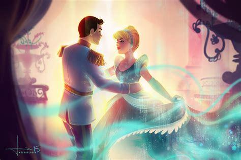 wallpaper couple art cinderella and prince charming cinderella fan art