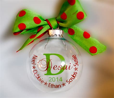 family name christmas ornament personalized by simplydebz