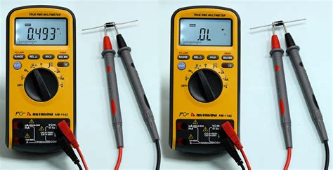 multimeter diode test diode test