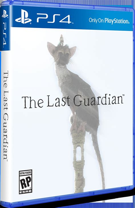 Bd Ps4 The Last Guardiaan the last guardian ps4 box is simple yet stunning playstation universe
