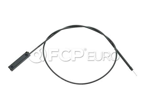 bmw hood release cable front    series   genuine bmw  fcp euro