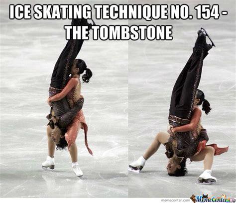 Ice Skating Memes - hurt by likeaboss meme center