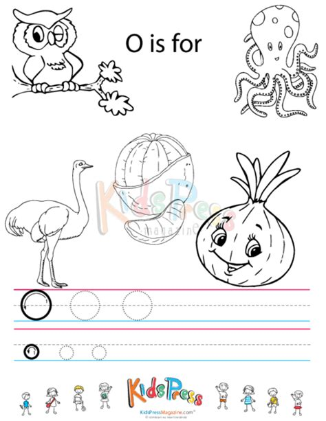 letter o worksheets alphabet tracing worksheet o kidspressmagazine 1376