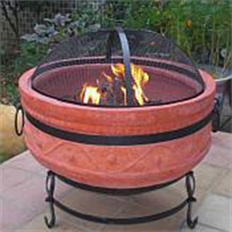 Small Clay Pit Outdoor Pit Replacement Bowl Image Mag