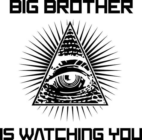 Wall Sticker Baby quot big brother is watching you illuminati eye t shirt
