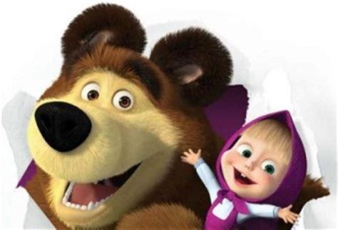 film misteri masha and bear hu hu masha and the bear yang asli ternyata telah meninggal
