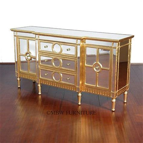 Mirrored Buffet Sideboard Server Credenza eclectic modern elegance credenza cabinet 6ft eclectic mirrored glass buffet sideboard server