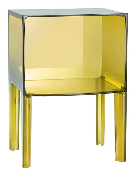 Yellow Bedside Table Small Ghost Buster Bedside Table Yellow By Kartell