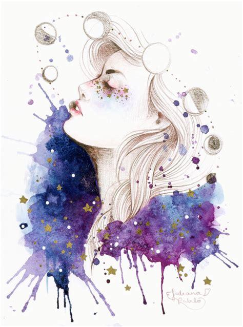 imagenes tumblr watercolor watercolor galaxy tumblr