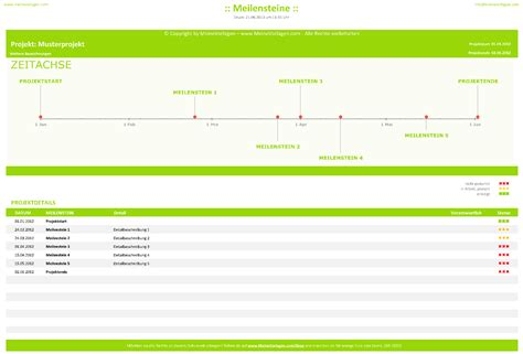 Word Vorlage Zeitplan Meinevorlagen Excel Projektmanagementtools
