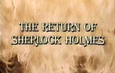 filme schauen the return of sherlock holmes the return of sherlock holmes 1987 film wikipedia