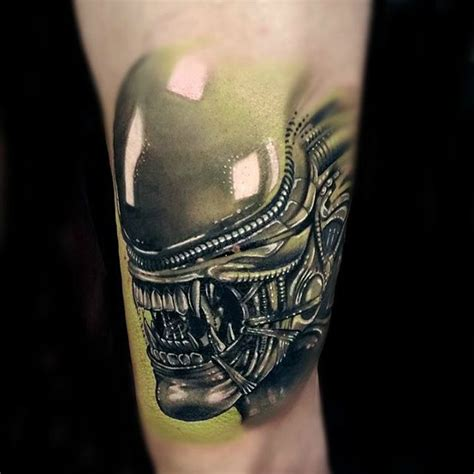alien head tattoo best tattoo ideas gallery