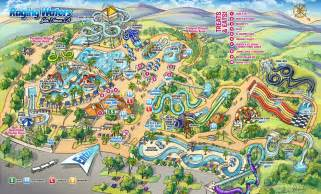water park map raging waters los angeles