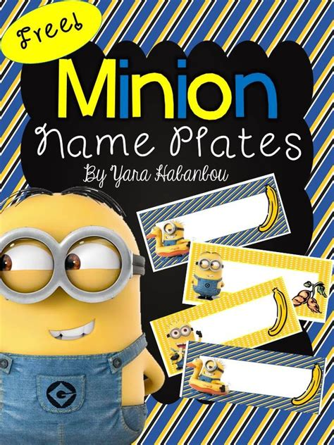 free editable name tags minions minions pinterest free minion editable name tags sea of knowledge name