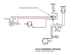 Pin 8n ford tractor ignition wiring diagram on pinterest