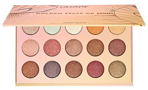Colourpop Golden State Of Mind Pressed Shadow Palette 2017 colourpop golden state of mind shadow palette at sephora on 10 31