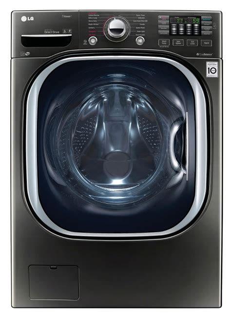 Lg Front Loading Washer Fc1207s3w lg 4 5 cu ft black stainless washer wm4370hka