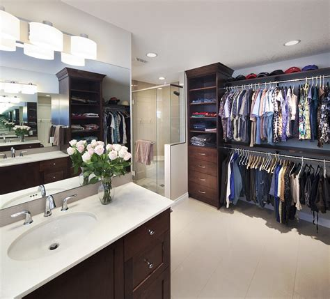 Bathroom Closet Shelving Ideas by Latest Project Luxury En Suite Walk In Closet Fire