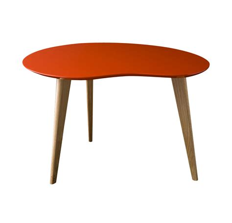 table edition lalinde small coffee table l 63cm wood legs by