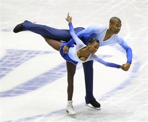 ice skateing duos yannick bonheur in isu world team trophy 2009 day 3 zimbio