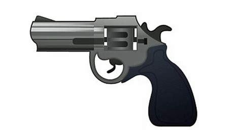 Emoji Film Pistole Brasilien | apple subs squirt gun for controversial pistol emoji