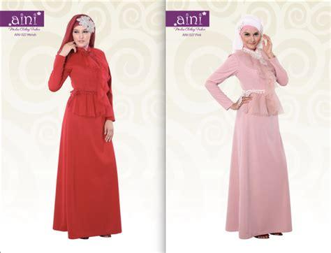 Baju Gamis Rdd 032 aini 027 baju muslim gamis modern