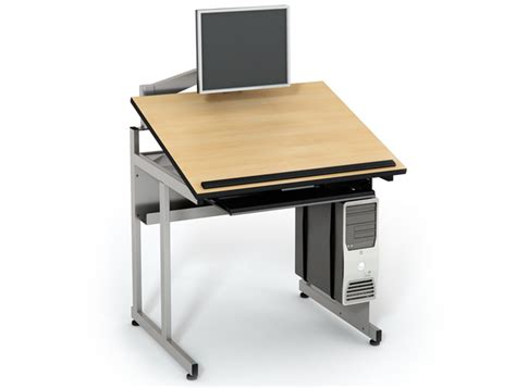 Drafting Computer Desk Cad Drafting Table Computer Lab Tables Classroom Furniture Computer Comforts