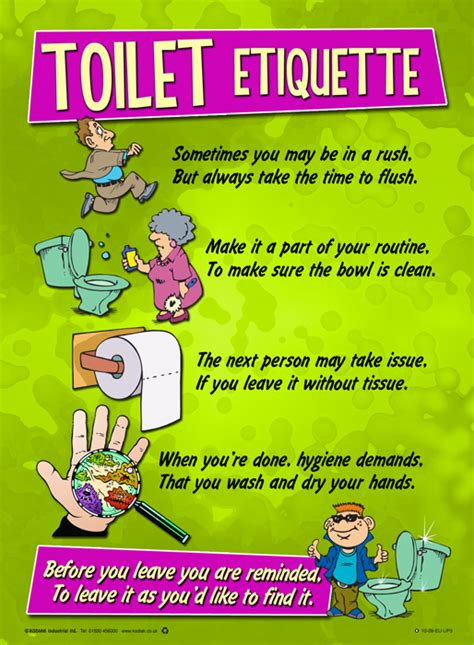 bathroom hygiene bathroom hygiene posters pictures to pin on pinterest
