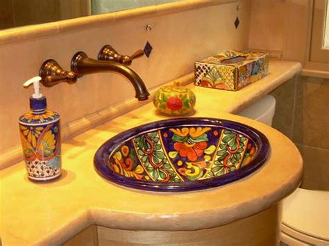 Mexican Bathroom Ideas Vasque Design Ou L Ameublement Salle De Bain Original