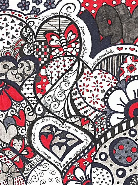 doodle pattern love 17 best images about zentangle designs and patterns on