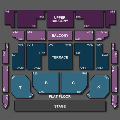bic floor plan howard wonderbox tickets for bournemouth international centre on sunday 23rd february