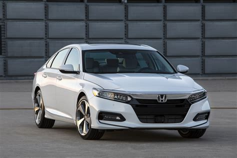 honda accord 2018 honda accord adopts bolder style more tech and