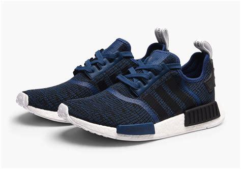 Sepatu Adidas Nmd R1 Mistery Navy Blue adidas nmd r1 mystic blue by2775 release date