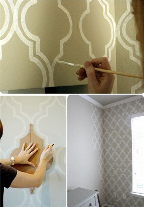 pattern accent wall ideas diy paint wall pattern master accent wall sublime