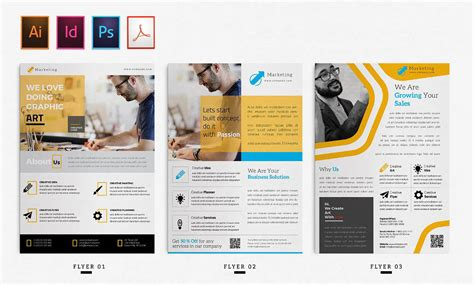 Indesign Flyer Templates Top 50 Indd Flyers For 2018 Designercandies Indesign Business Templates Free