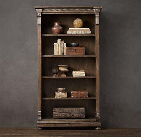 St James Bookcase Antique Coffee Shelving Cabinets Restoration Hardware Bookshelves
