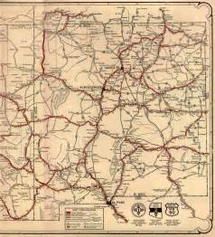 arizona county map with roads maps
