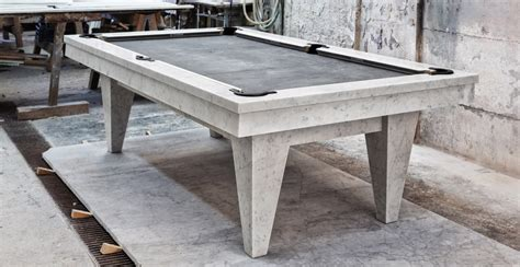 Marble Pool Table by Marble Billiard Tables Dedalo Luxury Bathroom