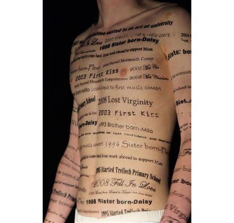 body tattoo writing writing on the body tattoo transfers coral payne