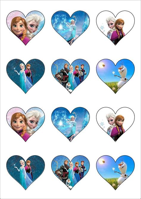 Disney Frozen Cupcake Decorations by 468 Best Images About Imagenes Camafeos On
